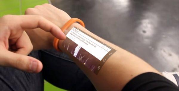 Ένα tablet πάνω... στο δέρμα μας