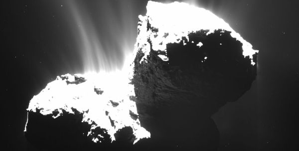 Rosetta: Αφωνοι οι επιστήμονες από τον παράξενο κομήτη