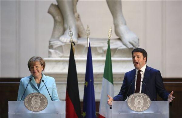 Μέρκελ-Ρεντσι: Θα συνεργαστούμε με την τωρινή ή τη νέα κυβέρνηση