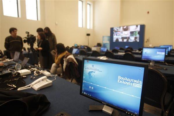 Πάνω από 1.000 ξένοι δημοσιογράφοι στο Ζάππειο για τις εκλογές