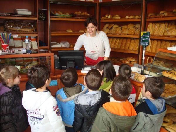 Επίσκεψη προνηπίων στο αρτοποιείο Χατζηγιάννη