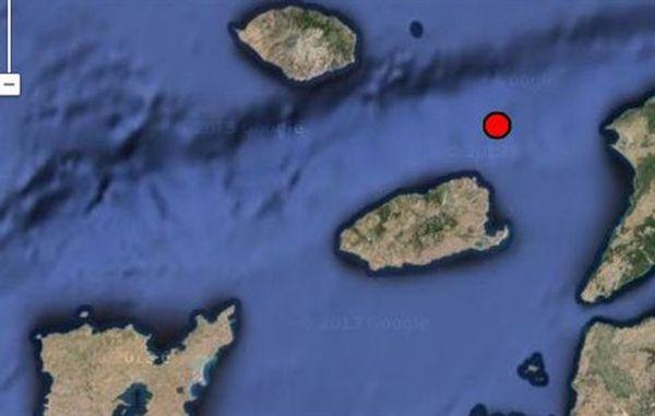 Σεισμός 4 βαθμών μεταξύ Λήμνου και Σαμοθράκης