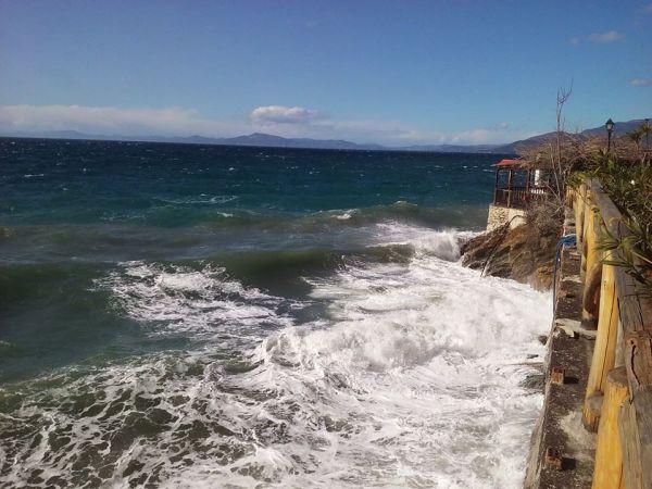 Ζημιές από τους νοτιάδες στη Μαγνησία
