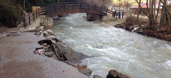 Mεγάλες ζημιές στα ορεινά της Καρδίτσας