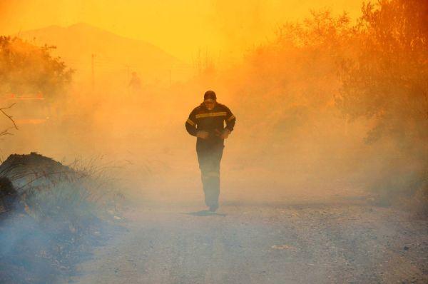 Πυρκαγιά προκάλεσε μεγάλες ζημιές σε σπίτι