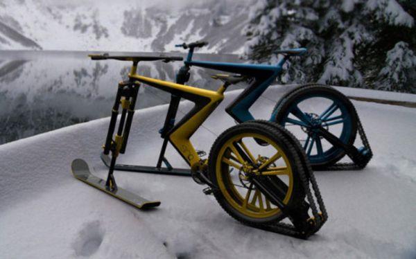 Το πιο cool ποδήλατο, ιδανικό και για σκι