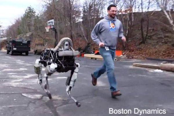 Ρομποτικός σκύλος-διασώστης από την Boston Dynamics