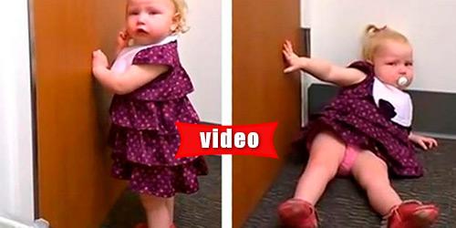 Κοριτσάκι 2 χρονών… καταρρέει μόλις μαθαίνει ότι απέκτησε αδερφή!