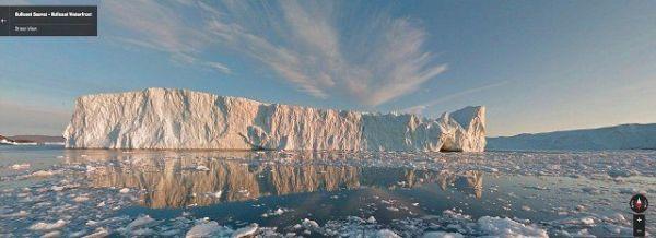 Το Google Street View πήγε... Γροιλανδία
