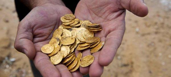 Μυθικός θησαυρός 2.000 χρυσών νομισμάτων στο βυθό του Ισραήλ