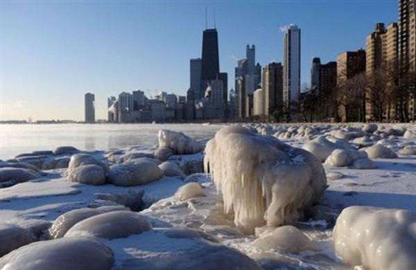 Πολικές θερμοκρασίες σαρώνουν τις ΗΠΑ, στους -22C στο Σικάγο