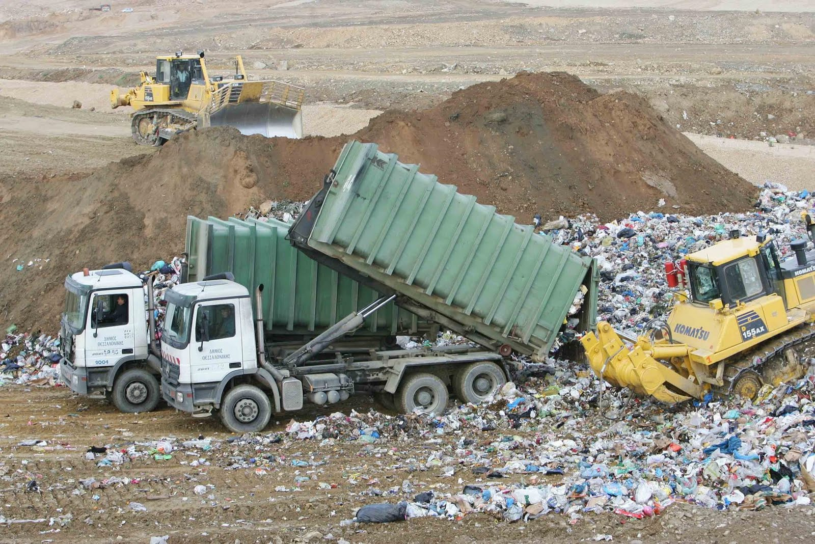 «Πόρτα» στα σκουπίδια της Τρίπολης έριξε ο Βόλος