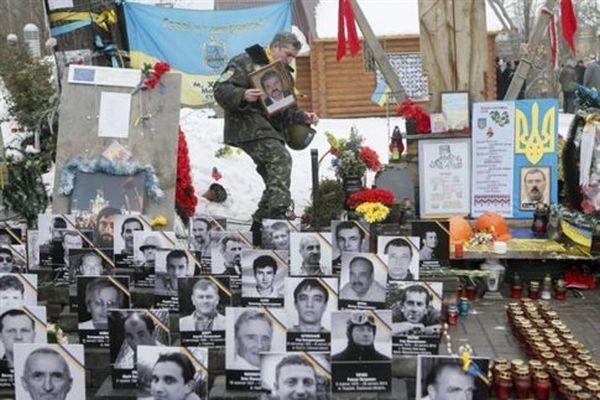 Ένας χρόνος από την πιο αιματηρή ημέρα της πλατείας Μεϊντάν