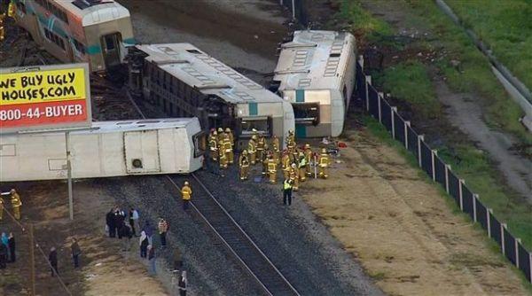 ΗΠΑ: 30 τραυματίες σε εκτροχιασμό τρένου