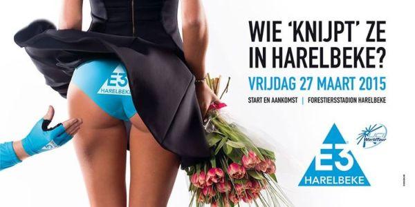 Σάλος με σεξιστική αφίσα για ποδηλάτες στο Βέλγιο [εικόνες]