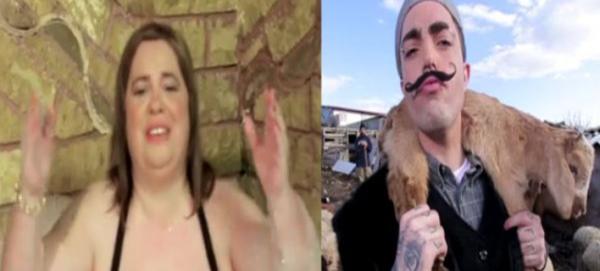 Η Εφη Θώδη, ένας ράπερ και μια πορνοστάρ [βίντεο]
