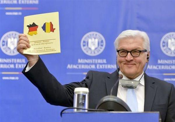 Το υπουργείο Εξωτερικών της Ρουμανίας έκανε τη Γαλλία... γερμανική