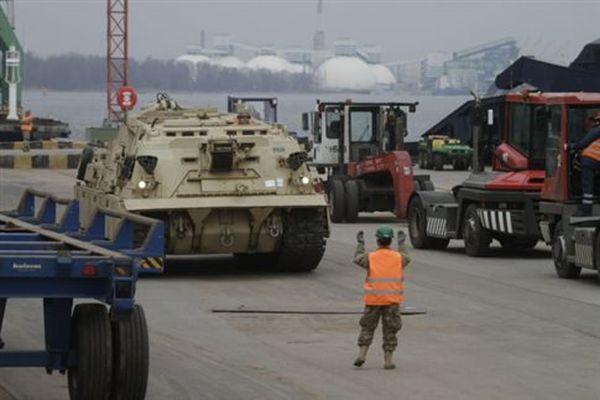 Αμερικανικά άρματα μάχης στη Βαλτική, οι ΝΑΤΟϊκές ασκήσεις αρχίζουν