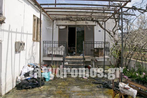 Μονοκατοικία στο Διμήνι καταστράφηκε από φωτιά