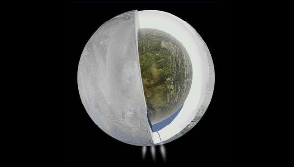 Τις πρώτες εξωγήινες υποθαλάσσιες υδροθερμικές καμινάδες εντόπισε η NASA στον Εγκέλαδο