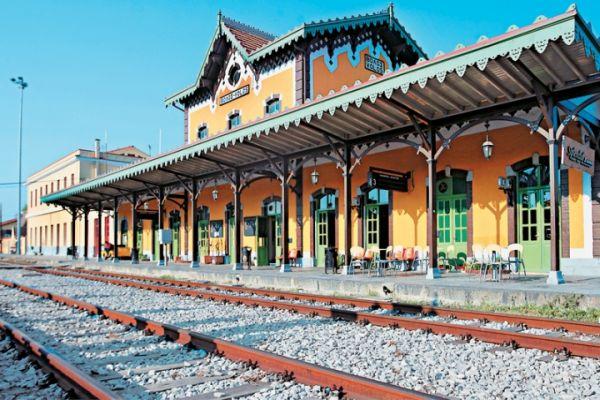Εργασίες στη σιδηροδρομική γραμμή
