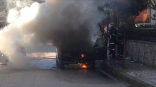 Πυρανάλωμα του πυρός έγινε αυτοκίνητο στα Τρίκαλα