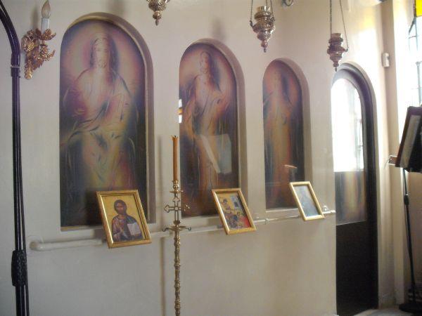 Στο φως σπάνιες αγιογραφίες στο εκκλησάκι του Νοσοκομείου