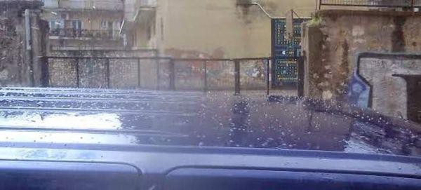 Χιόνι και χαλάζι στα Ιωάννινα [βίντεο]