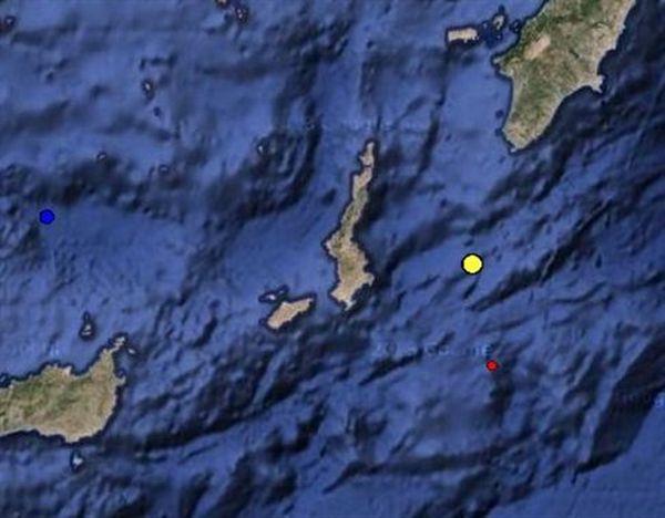 Σεισμός 4,3 βαθμών στην Κάρπαθο