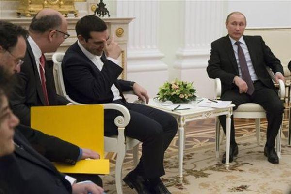 New York Times: Ρωσικό «διαίρει και βασίλευε» και o Τσίπρας στη Μόσχα