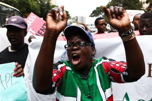 Κένυα: Στη φυλακή οι βιαστές 16χρονης που αρχικά αφέθηκαν ελεύθεροι