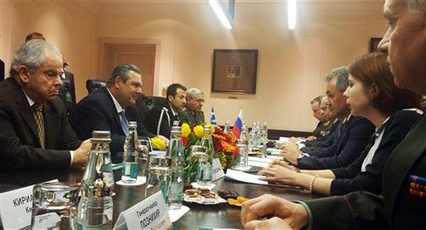 Καμμένος: Η Ελλάδα εκφράζει την αντίθεσή της για τα μέτρα της ΕΕ κατά της Ρωσίας