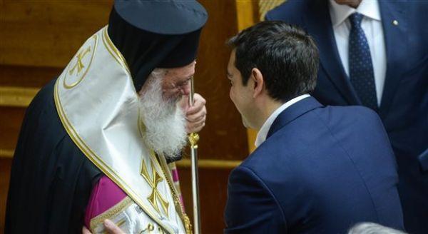Επιστολή Τσίπρα προς τον Αρχιεπίσκοπο Ιερώνυμο