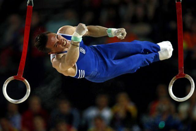 «Χρυσός» ο Πετρούνιας στο Ευρωπαϊκό της Ενόργανης Γυμναστικής