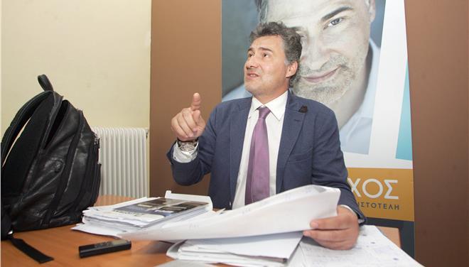 Την παραίτηση του δημάρχου Αριστοτέλη Χαλκιδικής ανακοίνωσε ο Γ. Μίχος