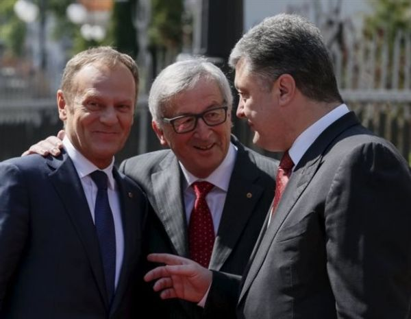 Σύνοδος ΕΕ - Ουκρανίας, εν μέσω σφοδρών βομβαρδισμών στα ανατολικά