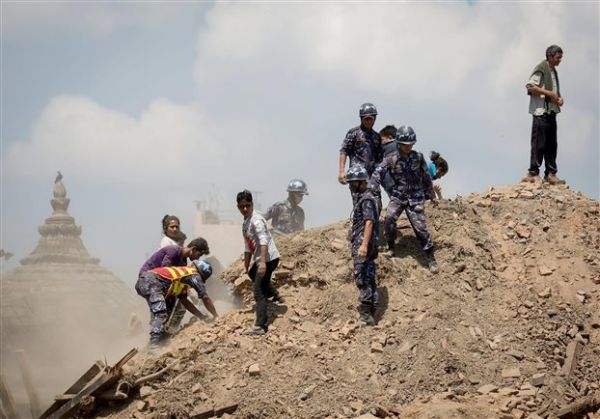 Σκηνοθέτης «είδε» την καταστροφή του Κατμαντού πριν ακόμη συμβεί