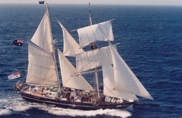 Το ιστιοπλοϊκό σκάφος Young Endeavor την ερχόμενη Δευτέρα το πρωί