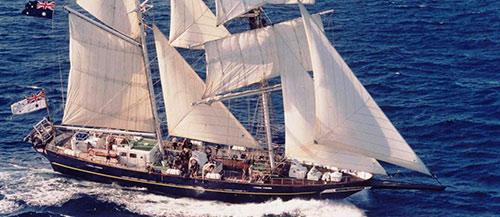 Πιάνει λιμάνι το παραδοσιακό ιστιοφόρο  Young Endeavor