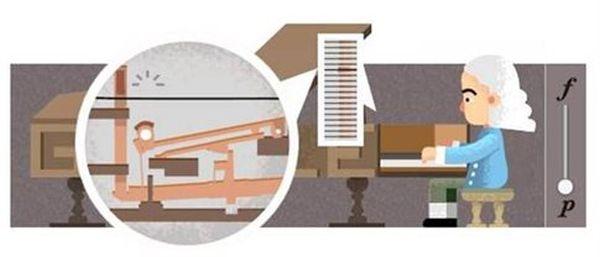 Αφιερωμένο στον εφευρέτη του πιάνου το Google doodle