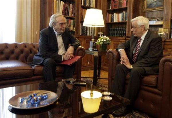 Το νομοσχέδιο για την Παιδεία στη συνάντηση Παυλόπουλου-Μπαλτά