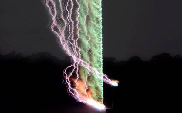 Η πρώτη φωτογραφία του ήχου ενός κεραυνού