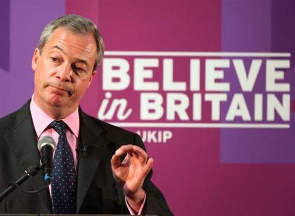 Αναβρασμός στο UKIP, πυρά κατά του Φάρατζ από στελέχη του κόμματος
