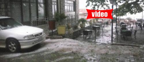 Καταιγίδες και χαλάζι σε όλη τη Στερεά και τη Φθιώτιδα