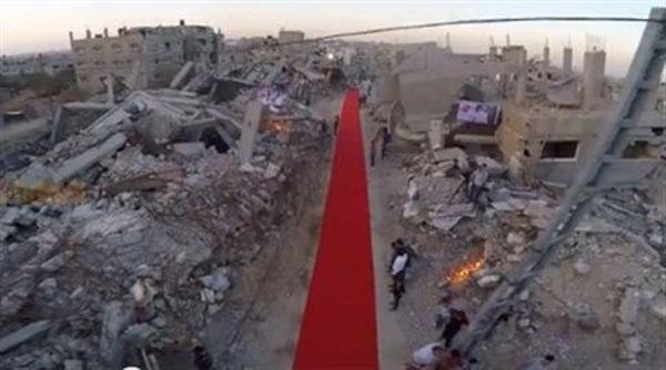 Γάζα: Το κόκκινο χαλί του Φεστιβάλ συμβολίζει το αίμα των θυμάτων