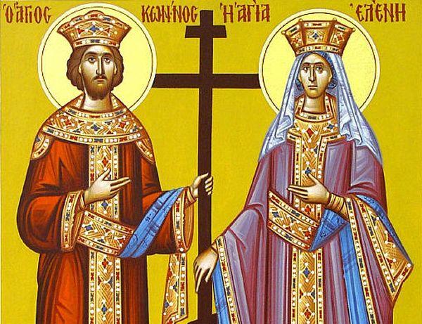 Το Βελεστίνο τιμά τους πολιούχους Αγίους Κωνσταντίνο και Ελένη