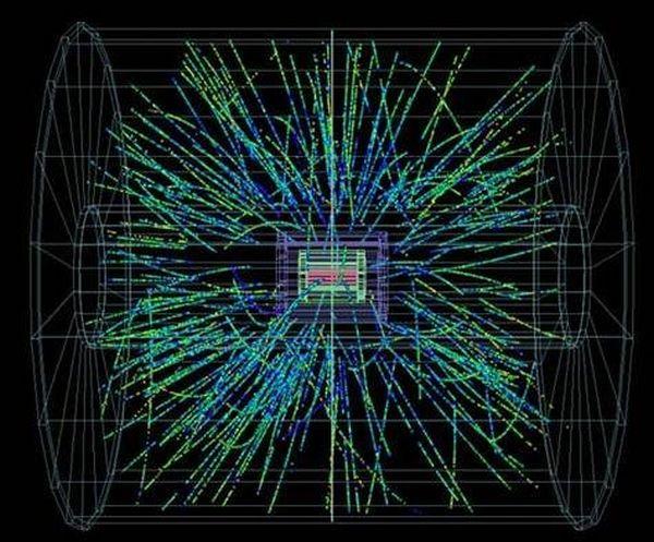 Δοκιμαστικές συγκρούσεις σωματιδίων με ενέργεια ρεκόρ