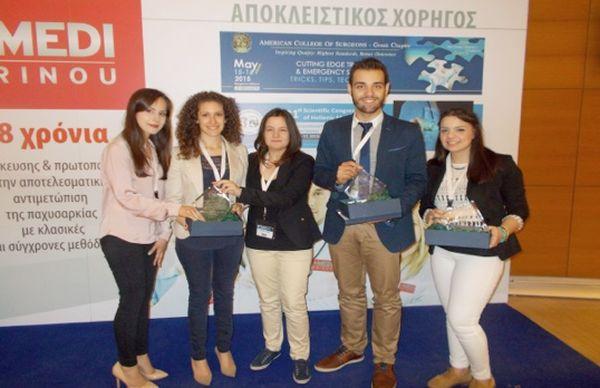 Πανελλήνια βράβευση φοιτητών του Πανεπιστημίου Θεσσαλίας