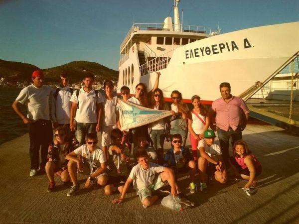 Ο ΝΟΒΑ στο Κayak Greece στον Πόρο