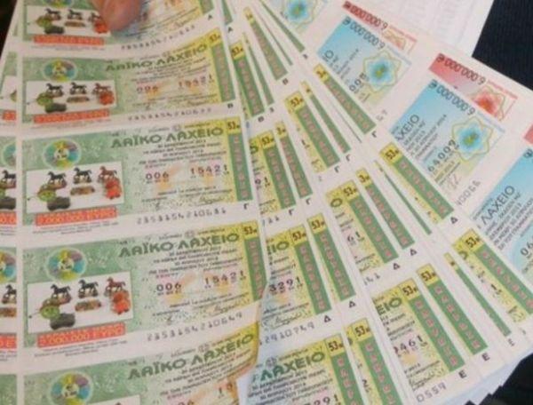 1.250.000 ευρώ σε δυο τυχερούς του Λαϊκού στην Ελασσόνα